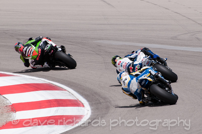 Sykes pounds out another turn