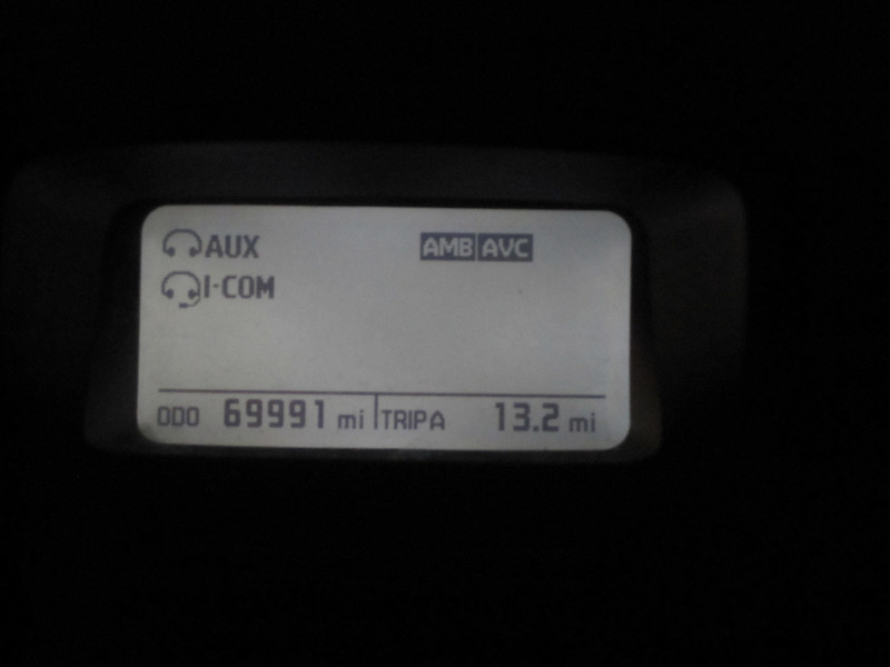 End of trip Odometer on Bike