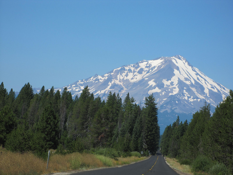 Mt. Shasta from CA89