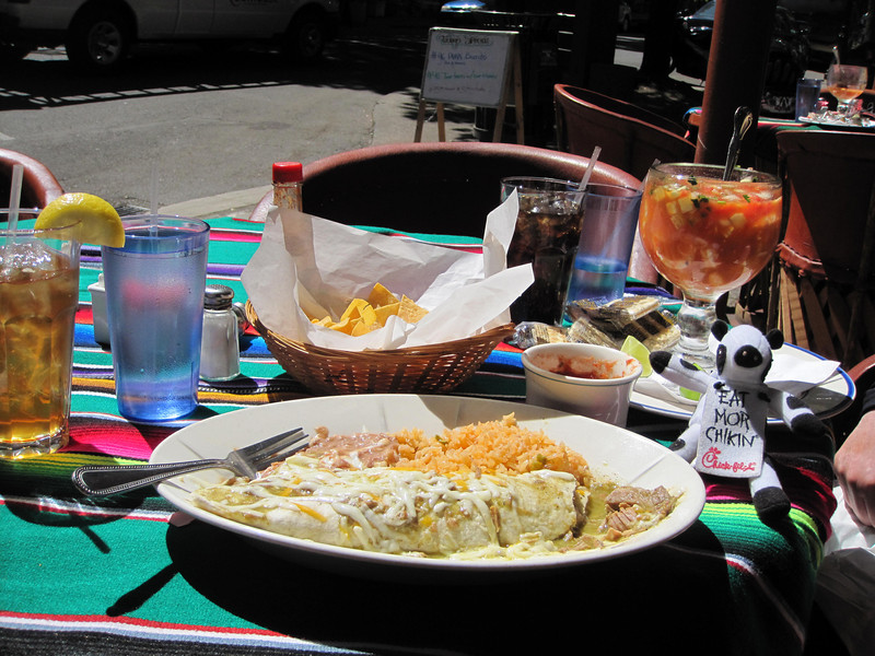 Lunch in McMinnville @ Los Molcahetes (sp)
