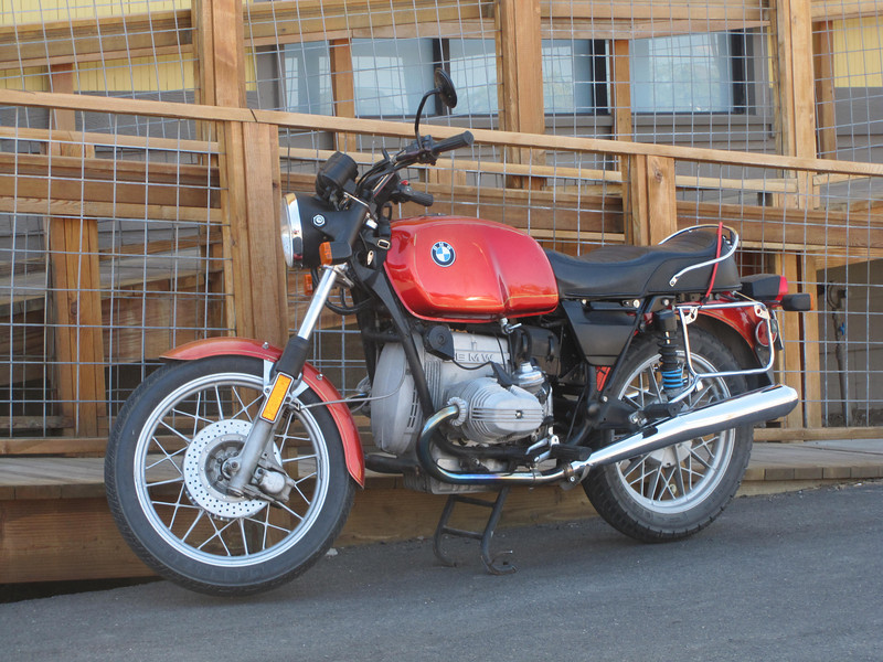 '80 BMW at Terrebonne.  It belonged to the cook.  He's owned it since new and restored it in the past few years.