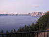 Crater Lake at dusk