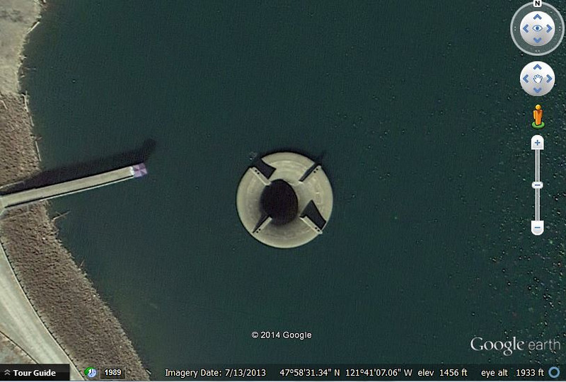 Spada Lake Glory Hole