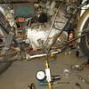 Leak down test, RH cylinder.