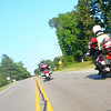 Grizz & Russ riding along US158 east of Norlina, NC.