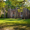 Old Shelton Church Ruins near Yessamee, SC