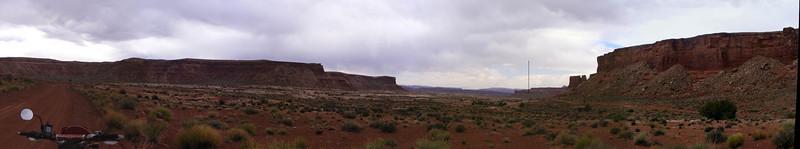 Pan of Lower Waterhole Flat, Canyonlands National Park UT.