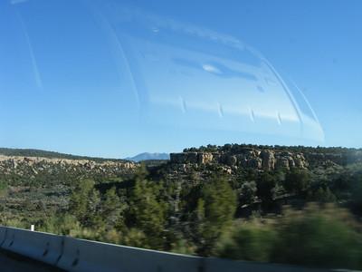 Hauling to Comb Ridge ride.