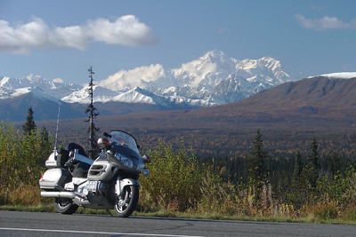 "9/24/06 - Denali, the ""Great One"" taken from Mile 170 on the Parks Hwy (AK-3)"