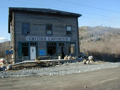 Chitina.  A near-ghost town.