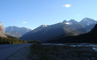 More Icefields Parkway in Jasper.