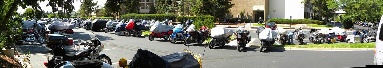 Iron Butt Parking Only