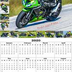 205 2020 Year Calendar 11x17