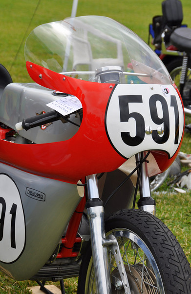 That's a Ducati 500GP.  It took first in class for Competition Bikes