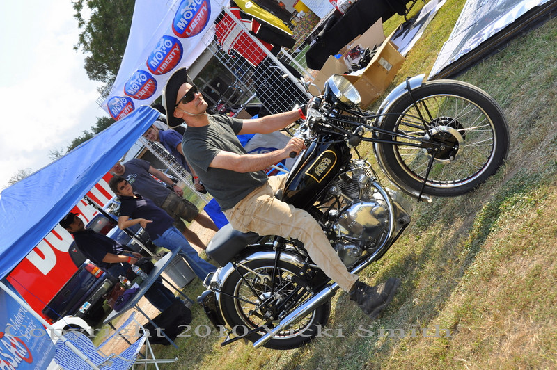 By 10 am Sat the bike show was filling up. A remarkable selection of eclectic motorcycles was entered
