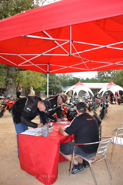 Test rides are popular and book out fast.