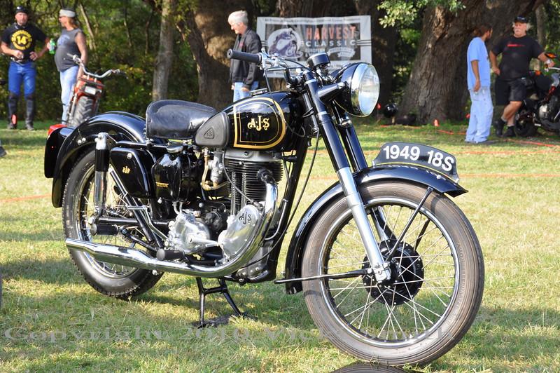1949 AJS 18S