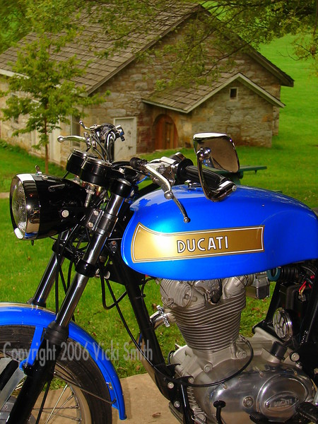 Ducati 450 Mark 3.  I don't own it but I wish I did...