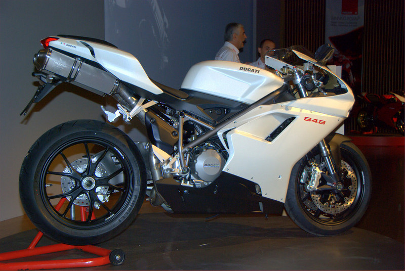 First up, the new 848