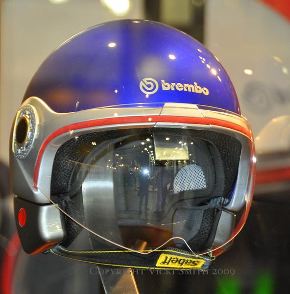 Brembo has gotten into the helmet business