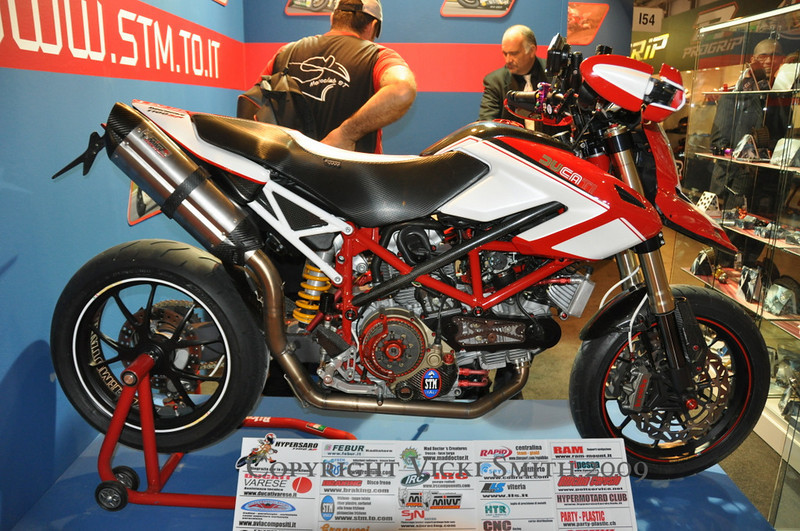 Most of the specialty manufacturers are here this year.  This Hyper was done up by STM