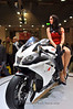 Aprilia RSV4 was the star of the Aprilia booth for the second year in a row