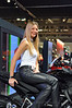 Lots of the models work year after year, and get to know the photographers and in this case the Ducatisti who spend so much time in the booth
