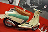 This retro styled Lambretta is not available yet but coming. It looked great, everybody in my group agreed they would buy one right then if they were taking orders