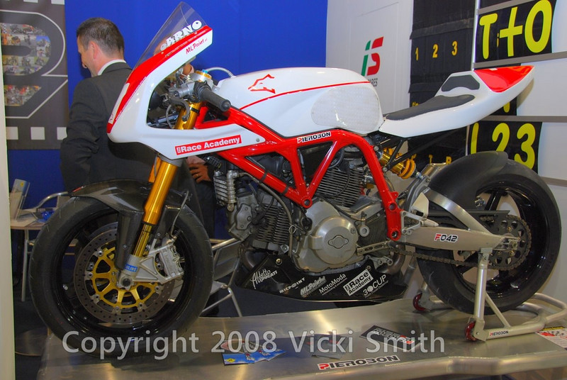 Lots of race bikes, this one is from Pirobon