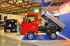 This truck is 50cc's. It's an industry in Italy making the tiny cars and trucks