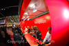 This year Ducati has a new booth and the staff was busy all week