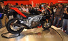 The new Aprilia 4 cyclinder drew a huge crowd