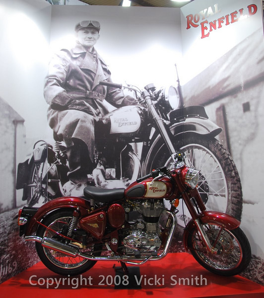 Some things have been around forever like this Royal Enfield.
