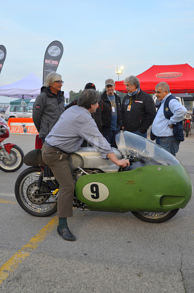 The Guzzi V8 drew a crown every time it rolled a wheel
