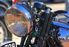 That's the Brough's owner in the reflection. Lucky guy, huh?