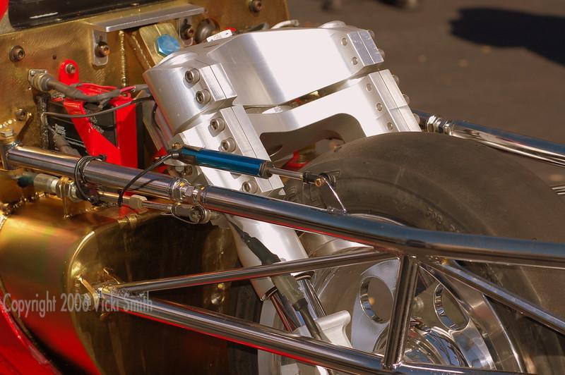 Streamliner front wheel