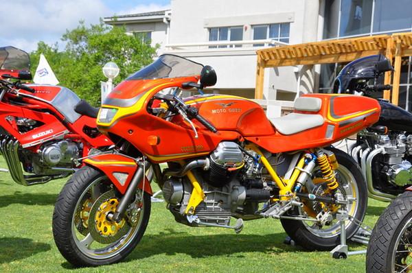 "Moto Guzzi ""Smyrna"" as in New Smyrna Beach which isn't quite Daytona either :-)"