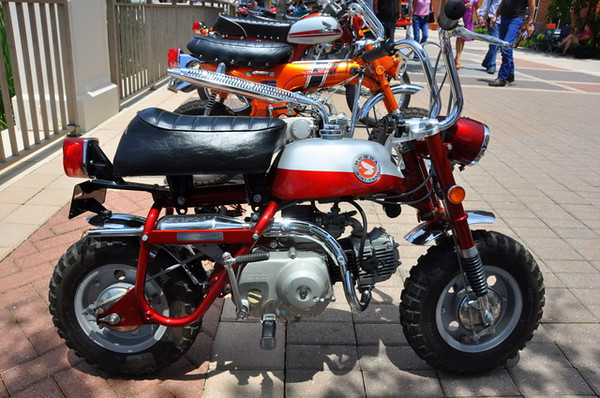 Bike most likely to make you smile? Honda Monkey Bike gets my vote