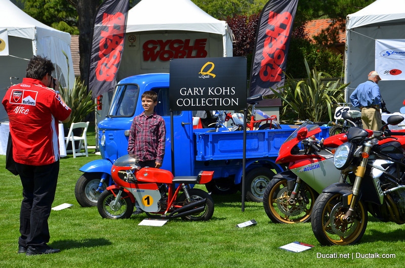 The Gary Kohs Collection is being auctioned at Meecums Pebble Beach.  This was the first stop on it's US tour.  Next stop is the Indy 500