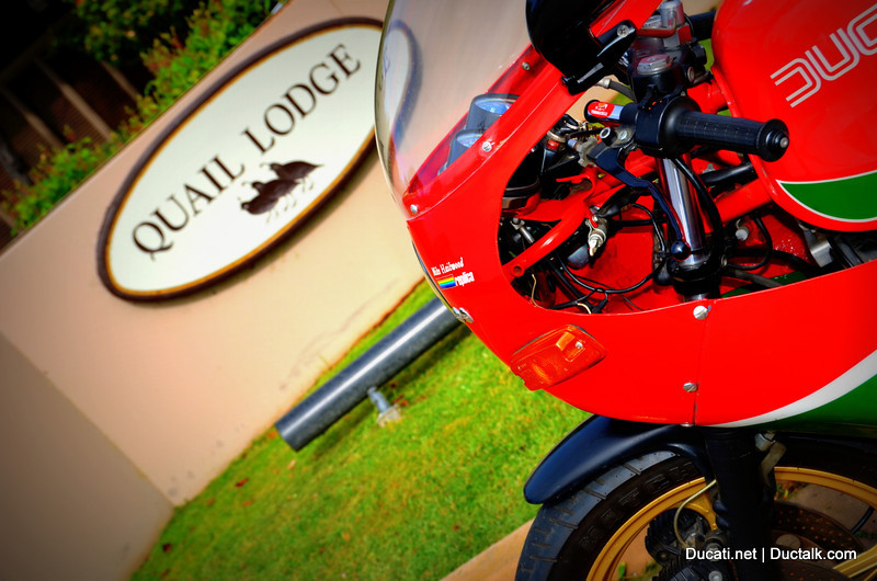 Welcome to the Quail Lodge in Carmel California.  This weekend every year if you appreciate motorcycles with a bit of sophistication, this is the place to be!