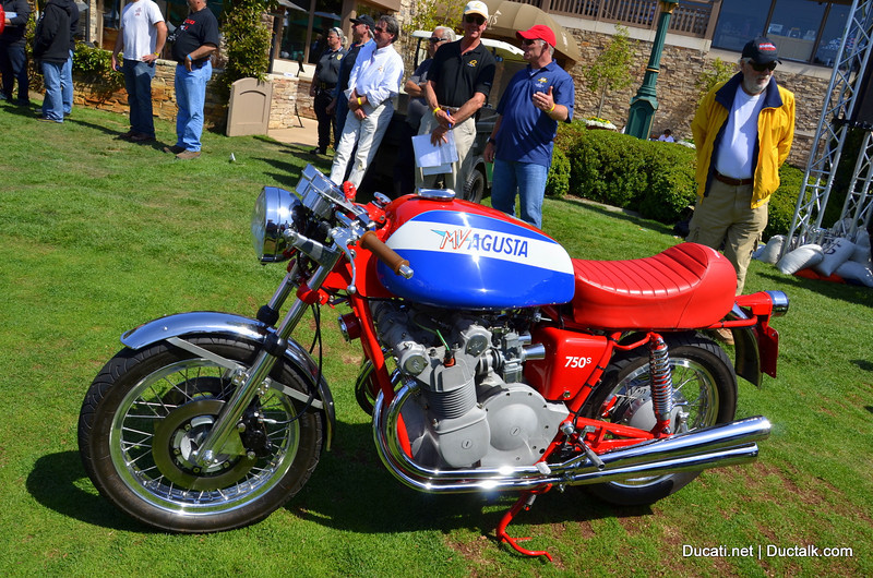 Best In Show (and winner of that wonderful Breitling watch) This MV Agusta 750s