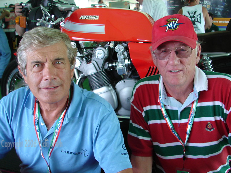 Ago and Dale Keesecker, one of the many generous MV owners/lenders who drove from all over the country to make the event a success