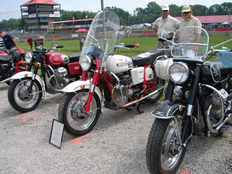 The AMA Hall of Fame has a bike show.  Here are some of the bikes entered