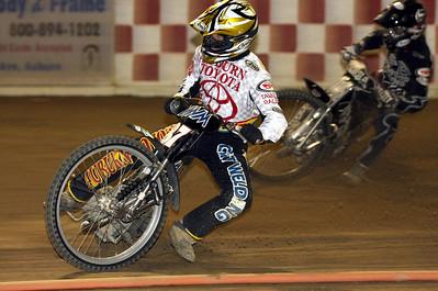 Veteran speedway rider Bart Bast.