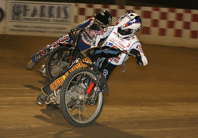 Bart Bast (front) and Billy Janniro.
