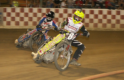 Bryan Yarrow (front) and Billy Janniro