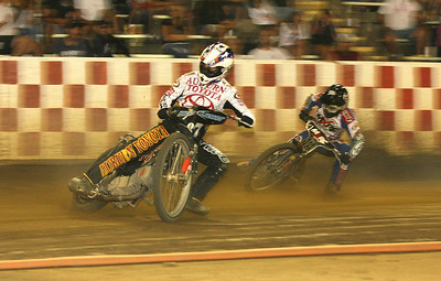 Bart Bast (front) and Billy Janniro