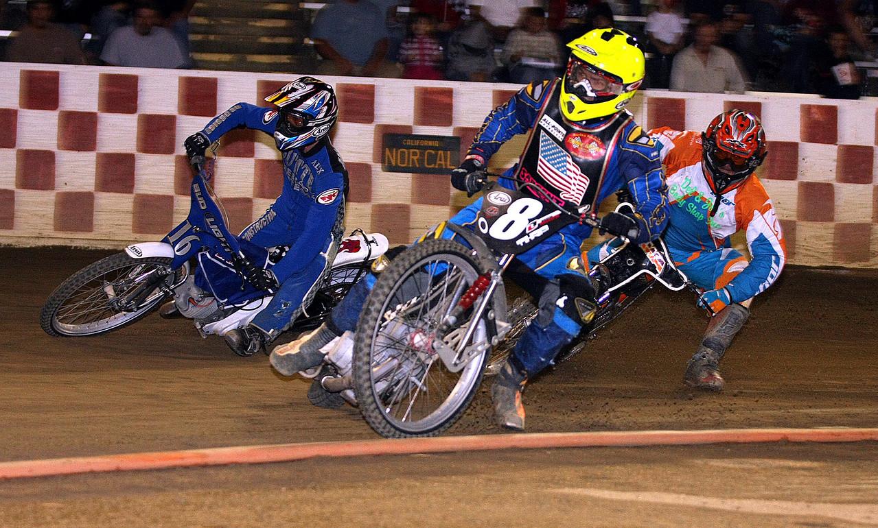 Alex Marcucci (L) Bryan Yarrow (center) and Mike Achilles (R)