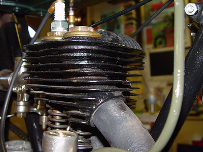 Cylinder from front