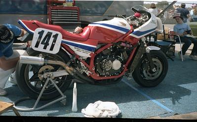 Jeff Haney's racer